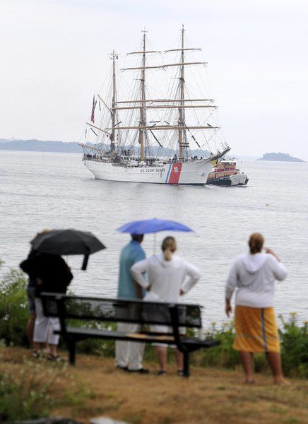 Tall ship Eagle back on North Shore Friday