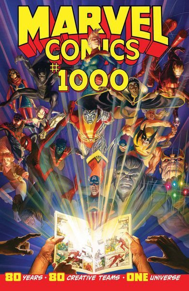 80 Marvel-ous years: Massive comic, full of familiar characters, celebrates anniversary