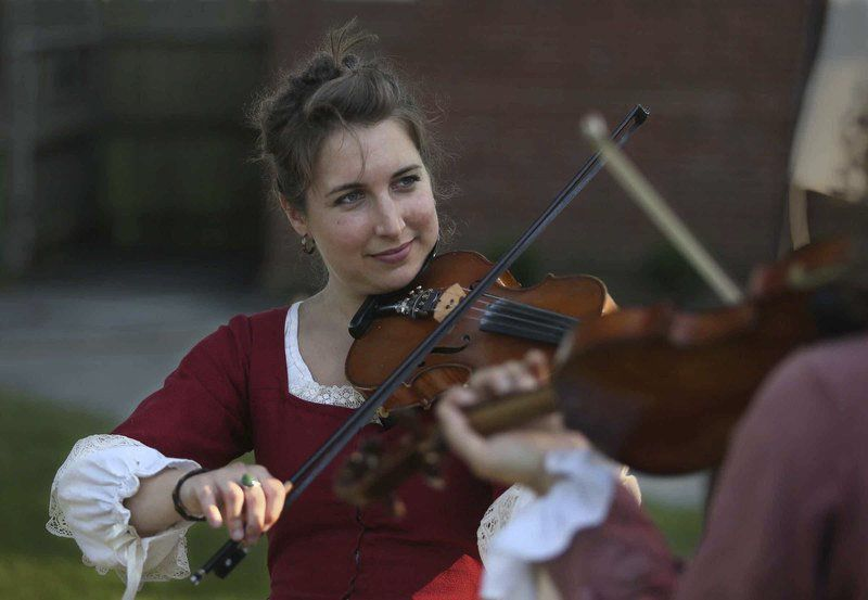 Strings and songs: Celtic fiddler spreads her wings as a folk performer