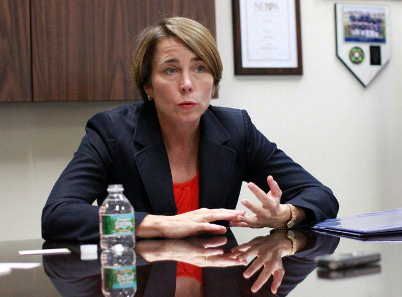 Moulton, Healey chat about coronavirus scams