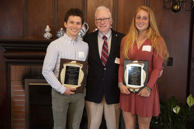 Wood honored as Moynihan Lumber North Shore Student Athlete of the Year