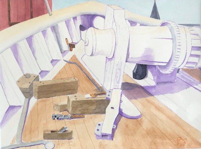 Unleashing their creativity: Senior center art students show off work at gallery