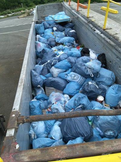 10 months into program, trash down 24% at transfer station
