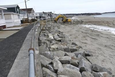 Rockport: Long Beach seawall stabilization enters second phase