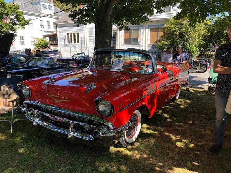 Car show kicks off Meetinghouse Foundation's fall-winter season