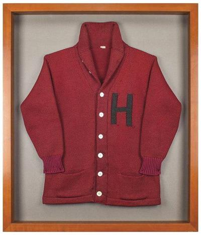 JFK's Harvard sweater sold at auction for more than $85,000