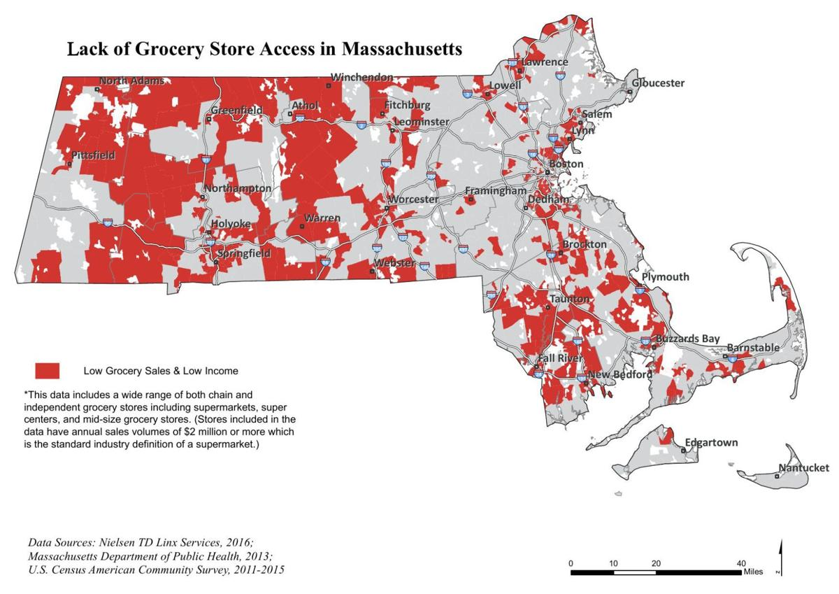MA Grocery Store Access Maps | | gloucestertimes.com on bowling alley map, airstrip map, kroger store map, zoo map, time on map, sam's club store map, beer store map, dollar tree location map, candy store map, pets store map, golf resort map, manufacturing map, chamblee campus map, grocery aisle, winn-dixie store location map, mines in new york state map, grocery stores around the world, food map, grocery stores in california, target store map,