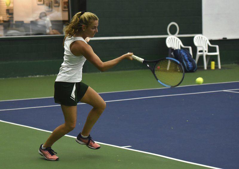 Manchester Essex girls tennis blanks Amesbury