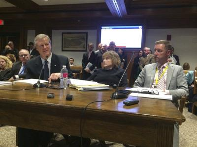 Baker makes pitch for transportation projects