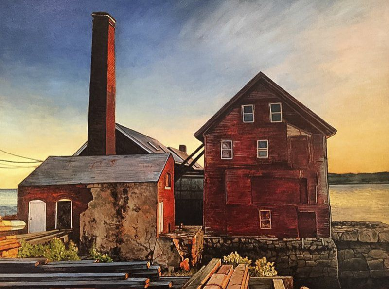 Artistic iterations; Icons of Cape Ann get fresh treatment in new exhibit