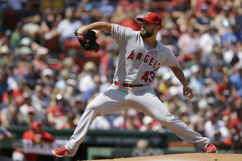 Bemboom's hit on call-up day lifts Angels past Red Sox 5-4