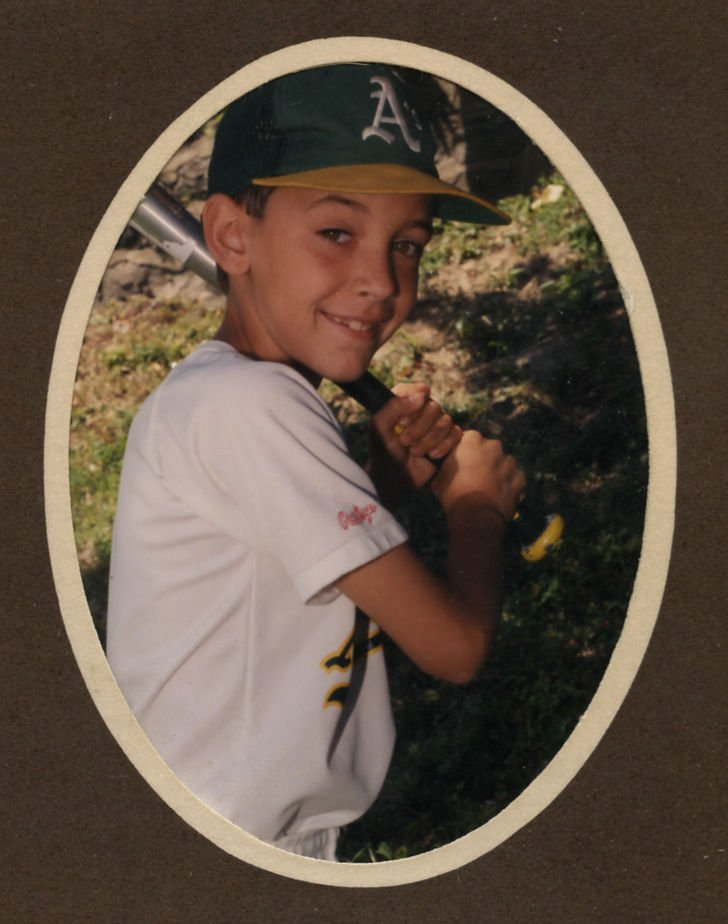 1991: Shawn Harnish during his Salem Little League playing days.