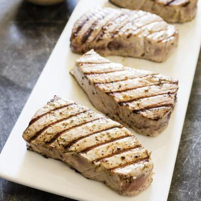 The heat is on for perfect tuna steaks