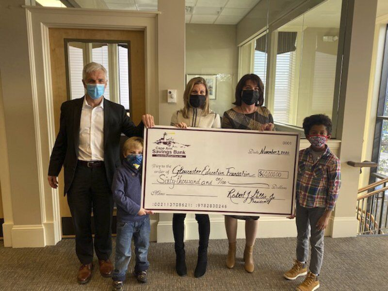 Local bank gives $60K toGloucester Education Foundation