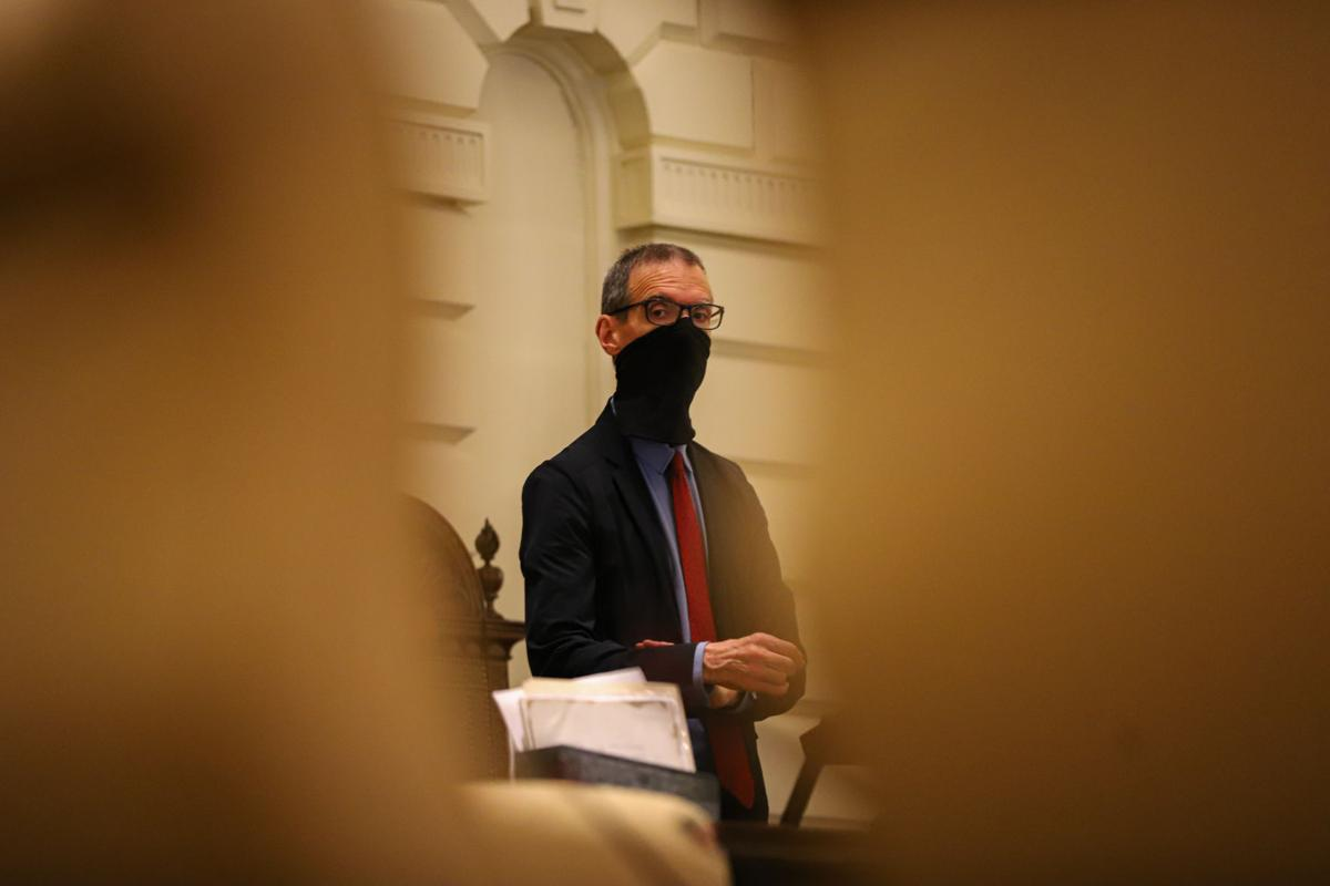 At the State House during the pandemic