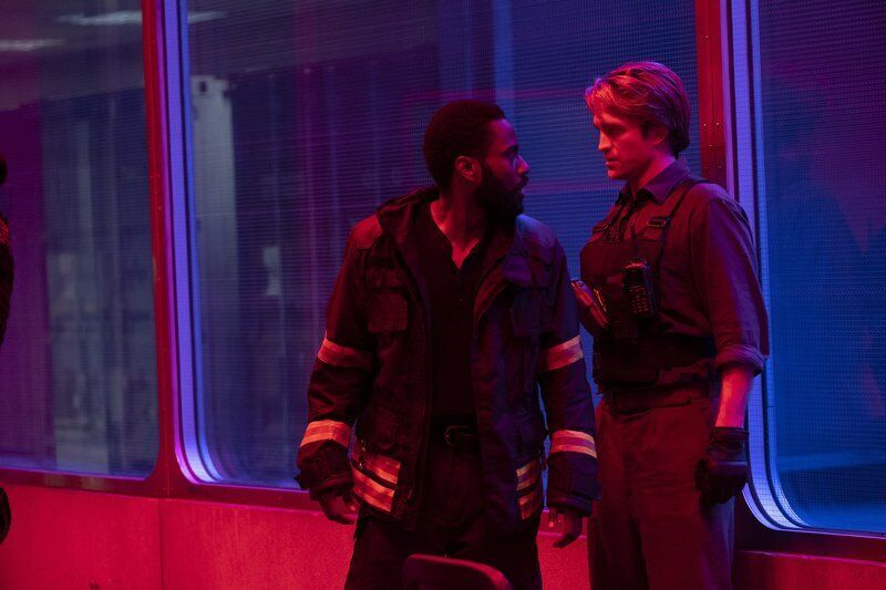 Movie review: In 'Tenet,' a time-bending thriller for bended times