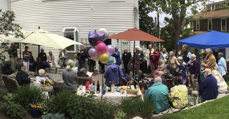 90th birthday party raises $5K for Rockport library