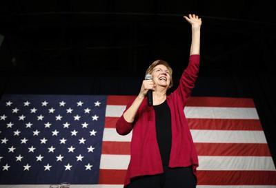 Column: Enthusiasm for Warren shows Dems want a bold Trump challenger