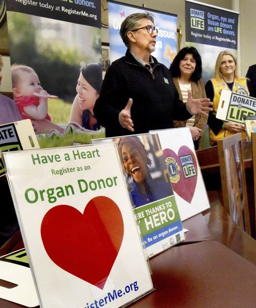 Giving a gift of life on Valentine's Day