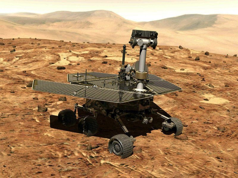Of a Mars rover and Mer-Bros