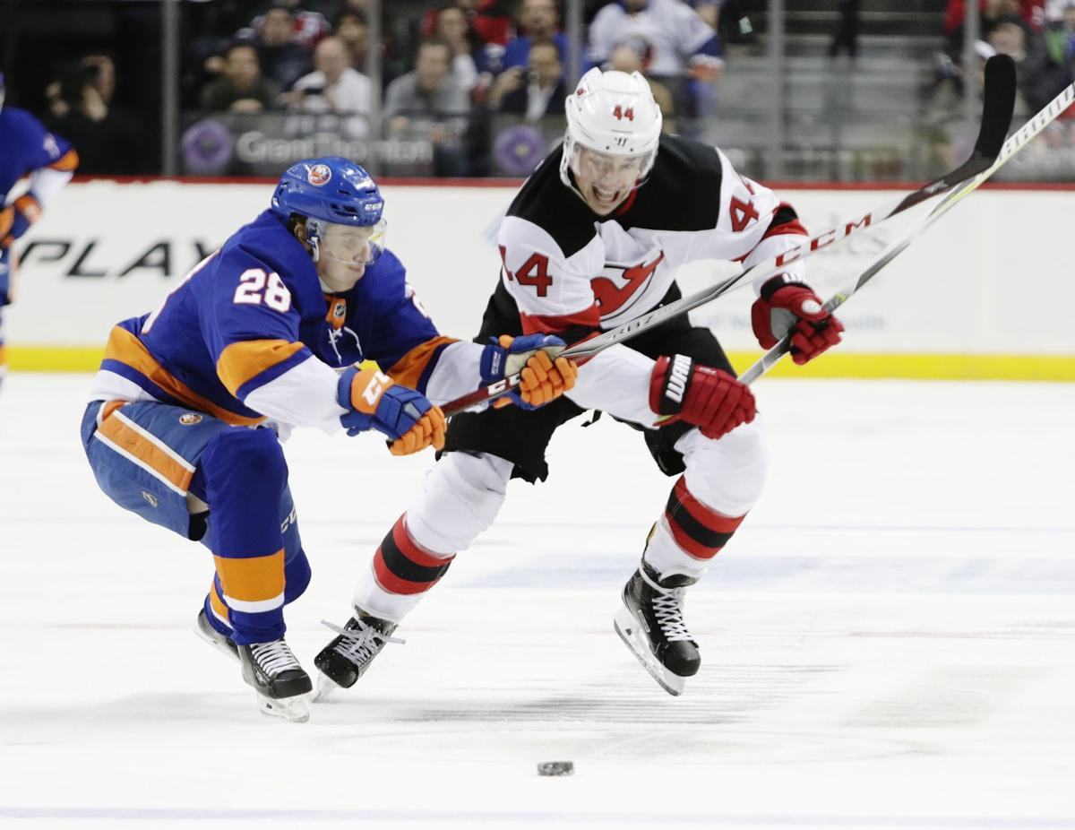 Manchester\'s Wood scores in return home to Boston with Devils ...