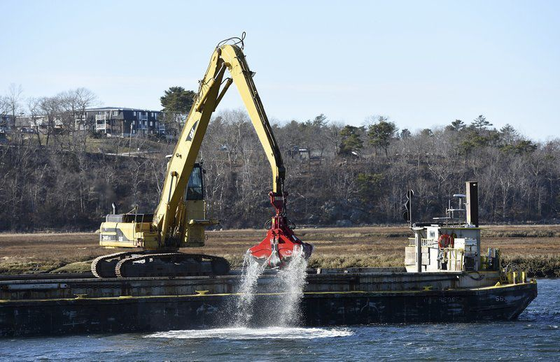 Dredge project at halfway point