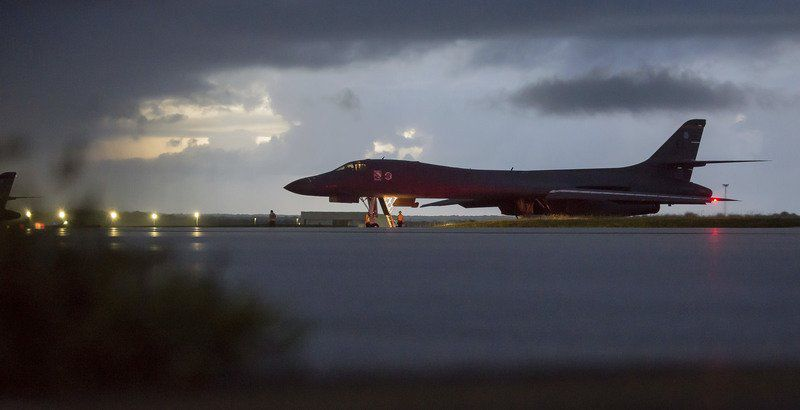 Bombers deployed from Ellsworth used in show of force to North Korea