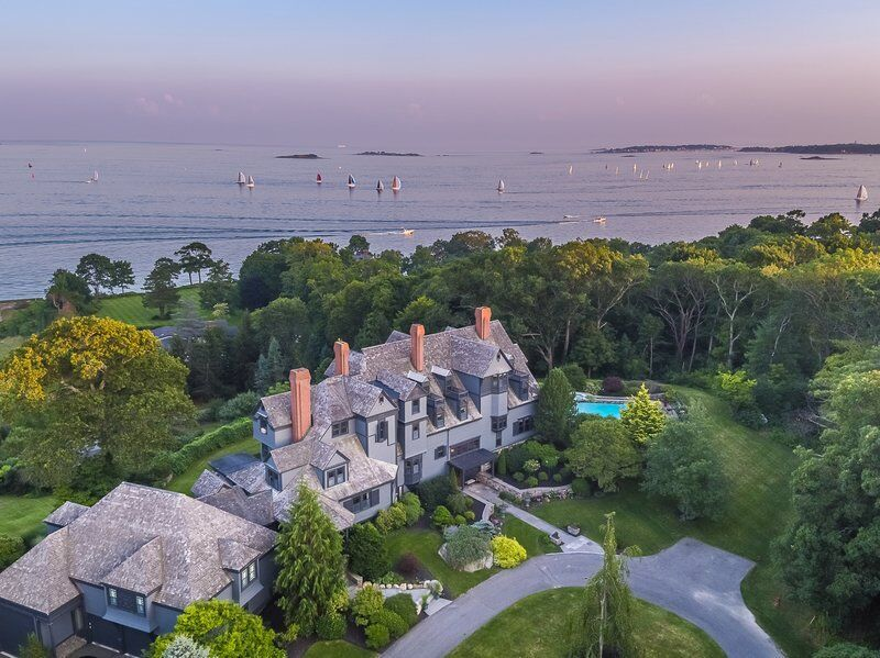 Remarkable Prides Crossing estate complete with uninterrupted ocean views