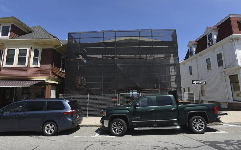 Restoration of Toad Hall building underway