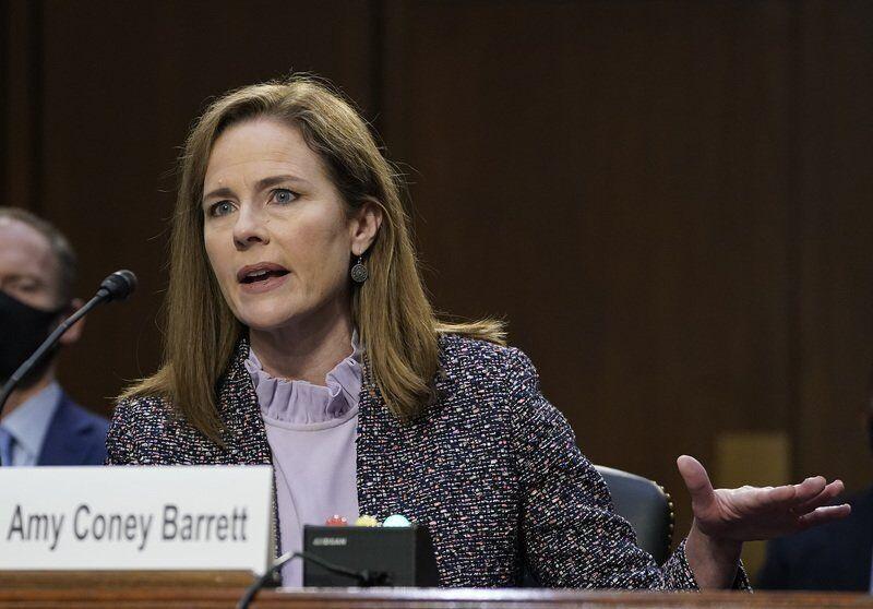 Called 'unashamedly pro-life,' Barrett faces senators anew