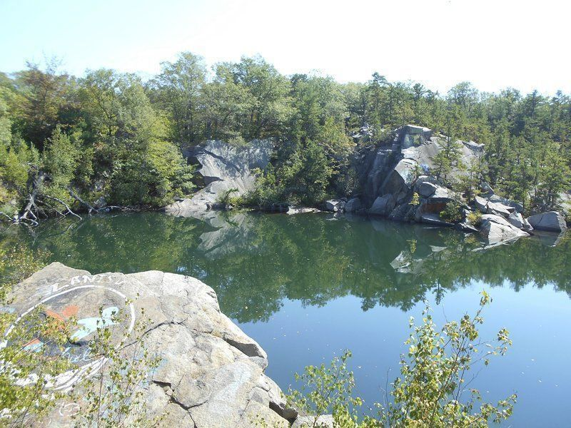 Trails to Lanesville quarries closing Monday