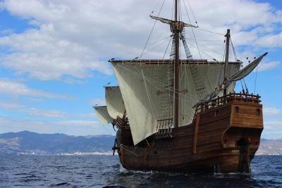 Santa Maria replica to visit North Shore