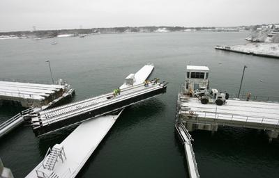 Bridge-barge tangle snarls morning rail commute | Local News