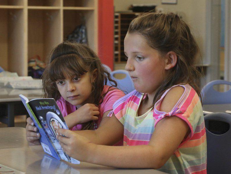 Children keep skills sharp at this camp