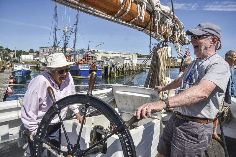 Stepping into the Age of Sail: Maritime Heritage Day floats out a boatload of seaside fun