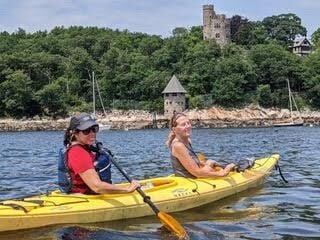 Kayaker missing kayak