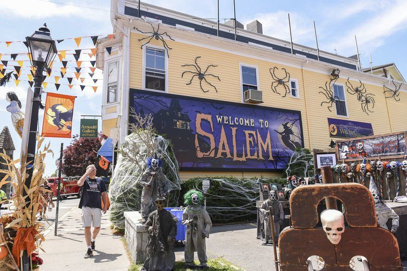 Movie magic: Film crews turn downtown Marblehead into Salem