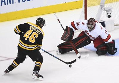 Phil Stacey column: Persistence pays off as Bruins take double OT playoff opener
