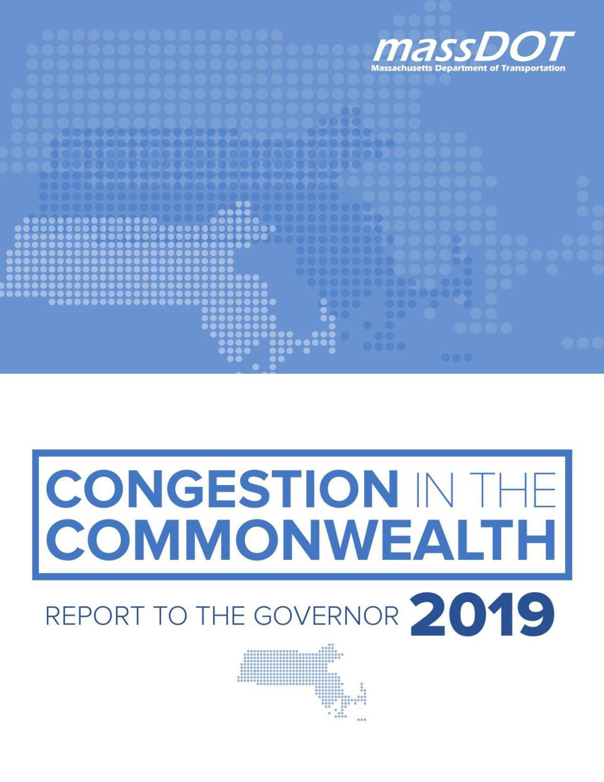 Congestion in the Commonwealth report 2019