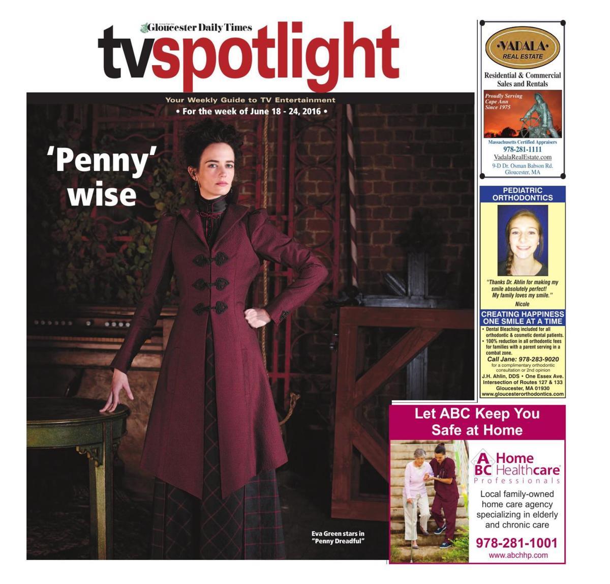 TV Spotlight June 18-24 | TV Listings | gloucestertimes com