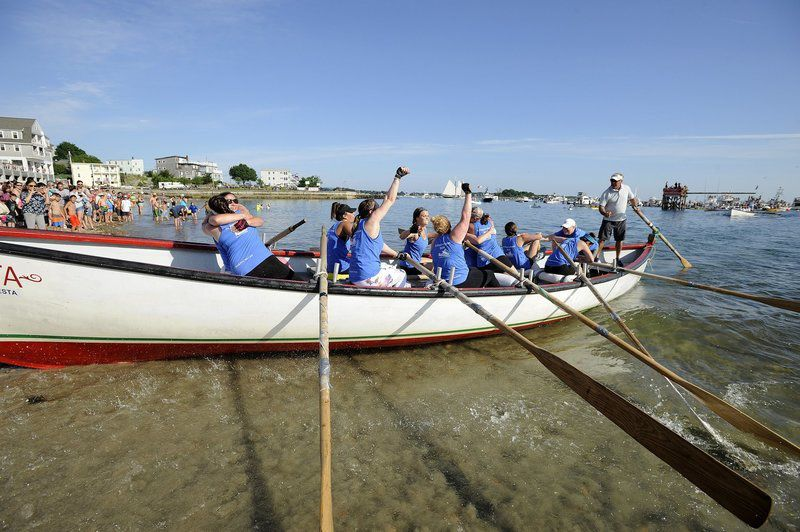 Backlash unseats Rowgue for Women's Seine Boat championship