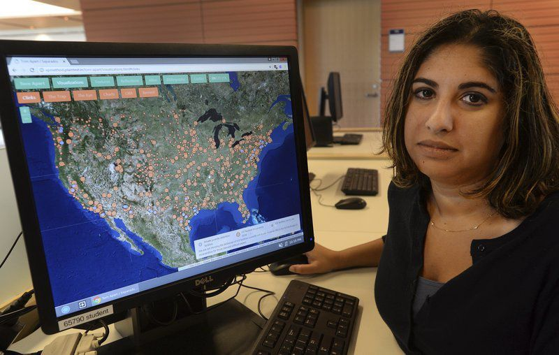 Salem State professor helps create immigrant detention map