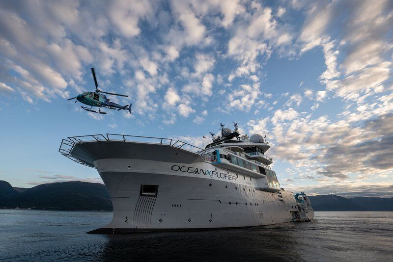 GMGI, OceanX jointo explore the seas