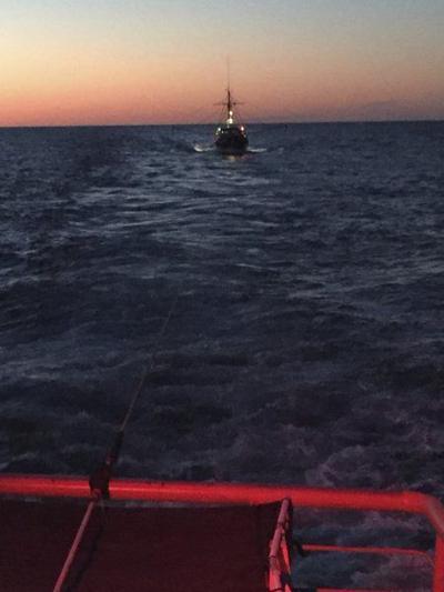 Coast Guard tows Gloucester dragger 90 miles into Portland, Maine