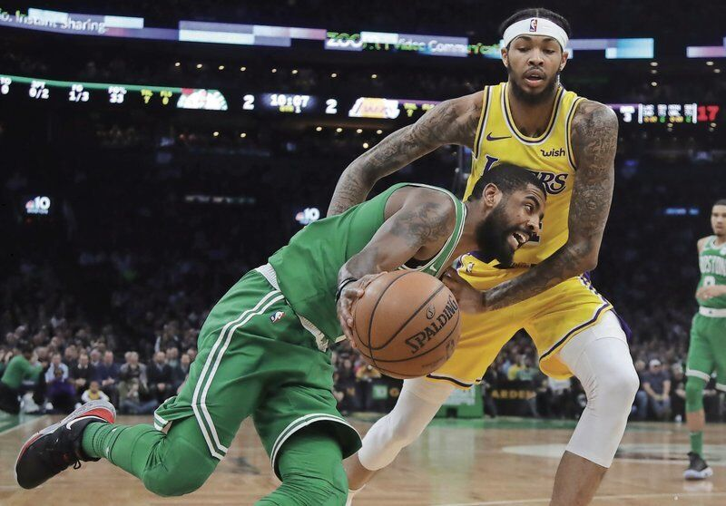 Give cheers,not jeers forKyrie Irving