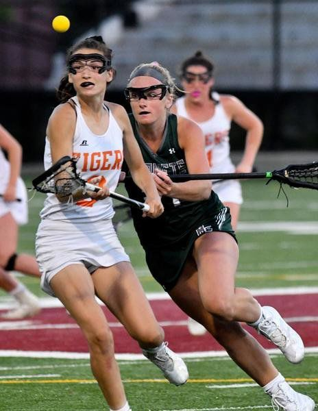 Manchester Essex girls lax sneaks past Ipswich in sectional semis