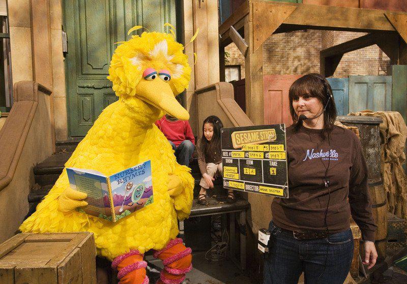 Sense of empathy and kindness floats over 'Sesame Street' set
