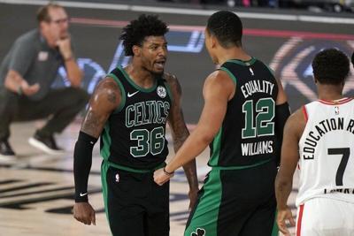 Tatum, Smart lift Boston past Toronto, Celtics take 2-0 lead