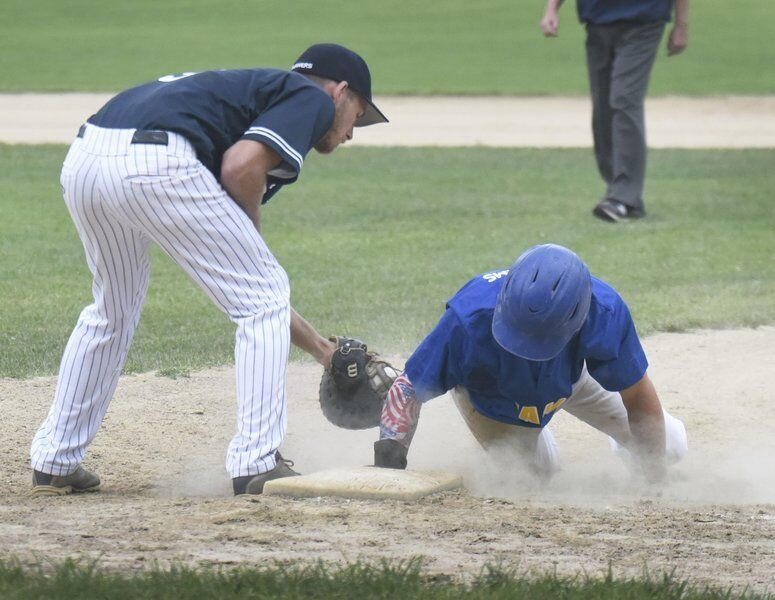 Bolla powers Rowley past Mariners in Game 1 of ITL finals