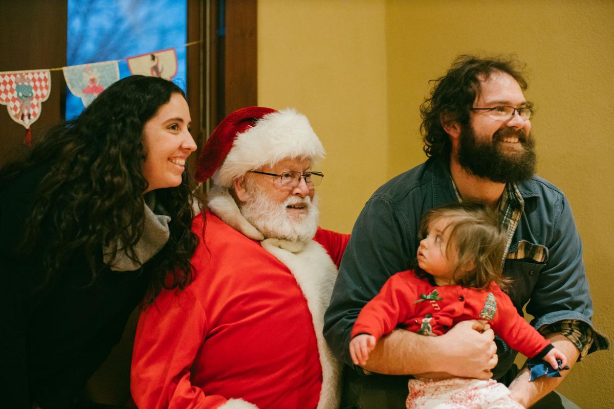 Santa Story Time